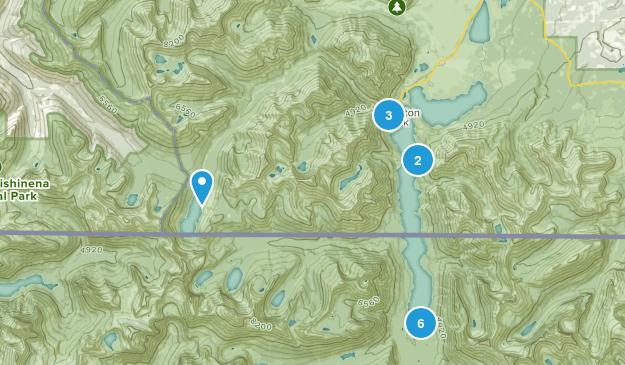 Waterton Park, Alberta Map