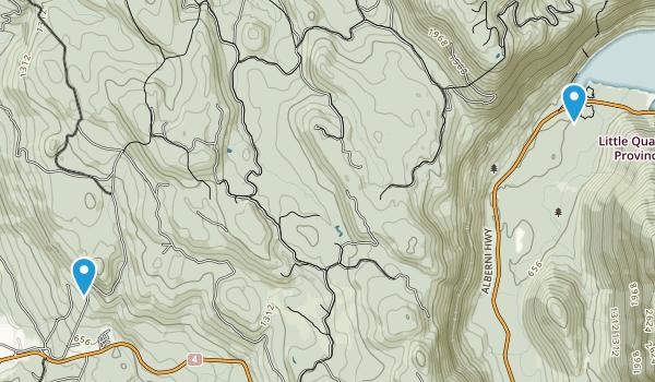 Alberni-Clayoquot F, British Columbia Map