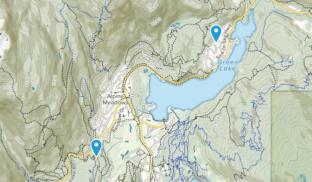 Alpine Meadows, British Columbia Map
