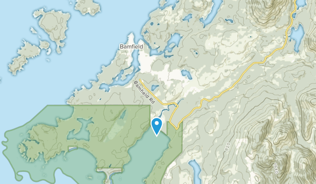 Bamfield, British Columbia Map
