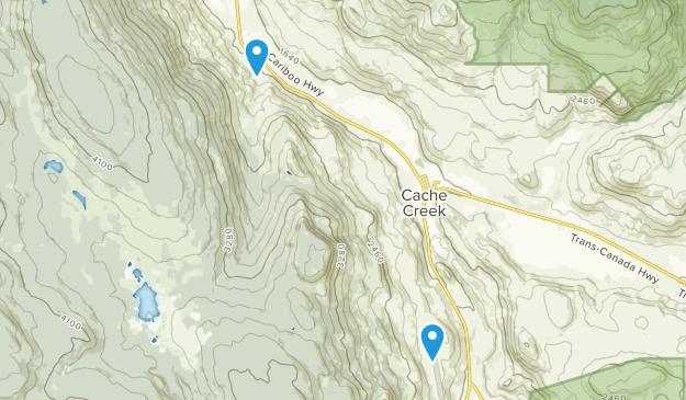 Cache Creek, British Columbia Map