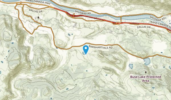 Campbell Creek, British Columbia Map