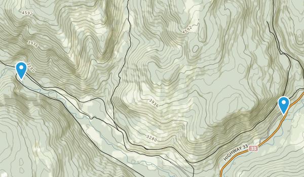 Carmi, British Columbia Map