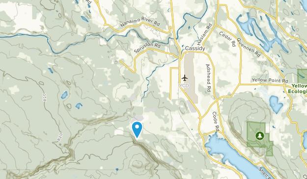 Cassidy, British Columbia Map