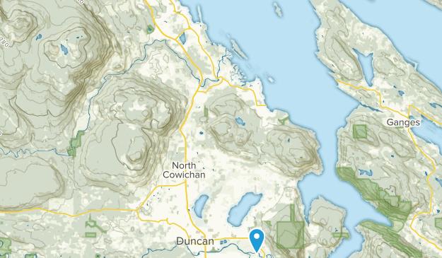Chemainus, British Columbia Map