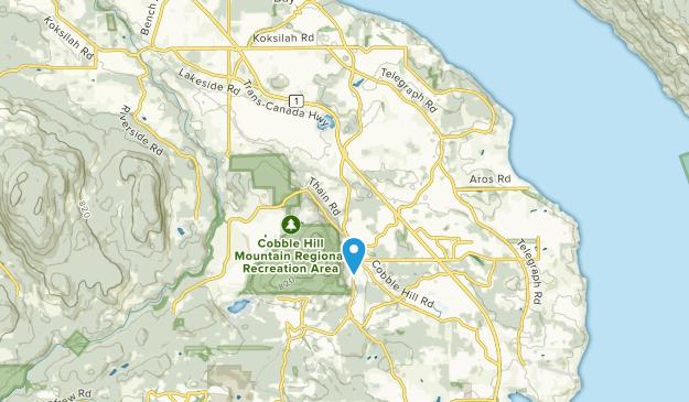 Cobble Hill, British Columbia Map