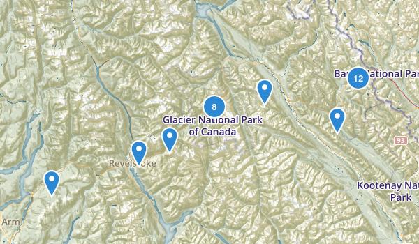 Columbia-Shuswap, British Columbia Map