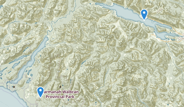 Cowichan Valley, British Columbia Map