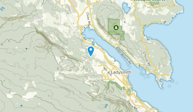 Cowichan Valley H, British Columbia Map