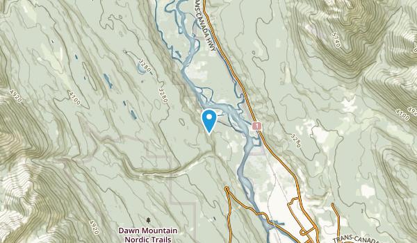 Edelweiss, British Columbia Map