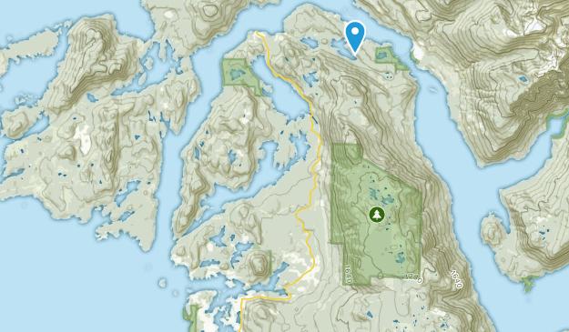 Egmont, British Columbia Map
