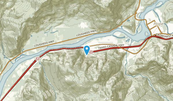 Floods, British Columbia Map