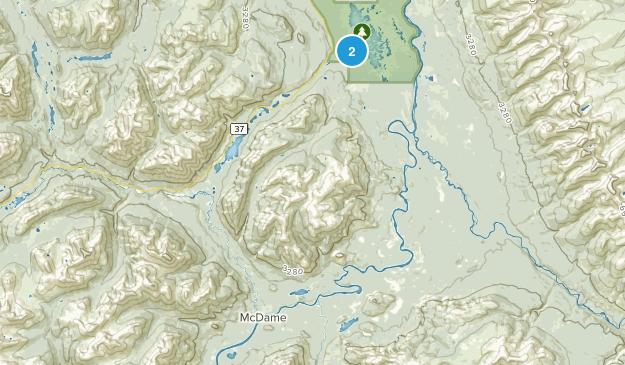 Good Hope Lake, British Columbia Map