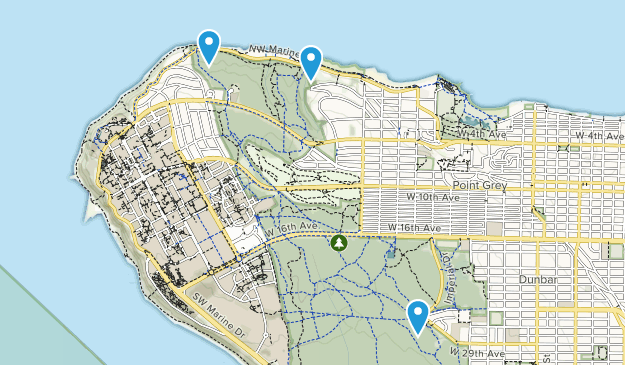 Greater Vancouver A, British Columbia Map