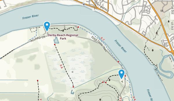 Haney, British Columbia Map