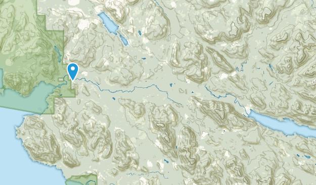 Holberg, British Columbia Map