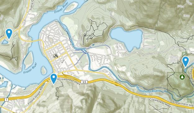 Hope, British Columbia Map