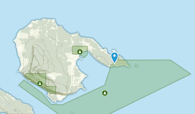 Hornby Island, British Columbia Map