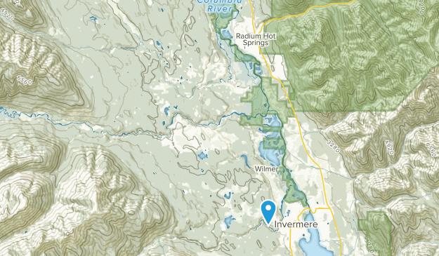 Invermere, British Columbia Map