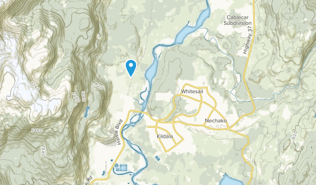 Kitimat, British Columbia Map