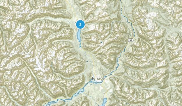 Kitimat-Stikine C, British Columbia Map