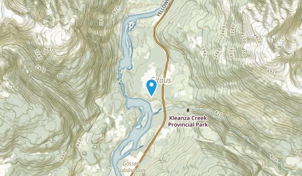 Kitselas 1, British Columbia Map