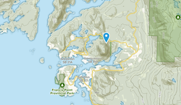 Madeira Park, British Columbia Map