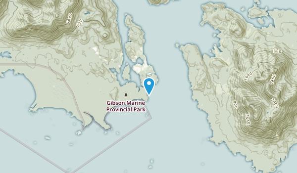 Marktosis 15, British Columbia Map