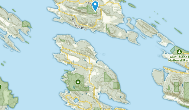Mayne, British Columbia Map