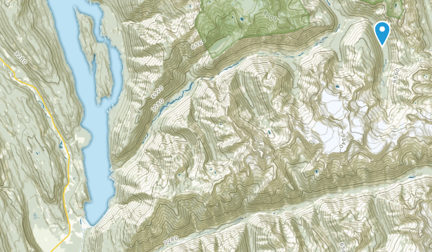 Meadow Creek, British Columbia Map