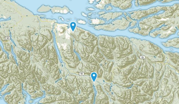 Mount Waddington D, British Columbia Map
