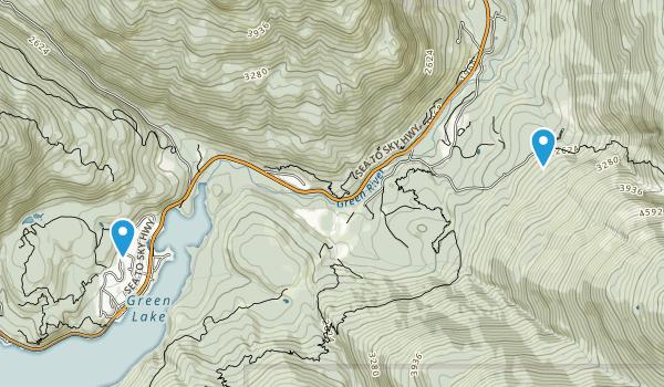 Nesters, British Columbia Map