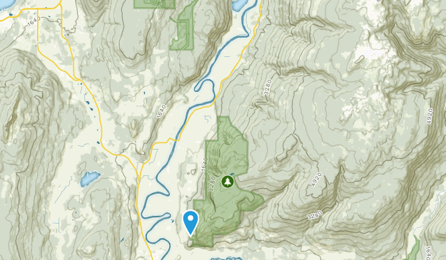 North Okanagan F, British Columbia Map