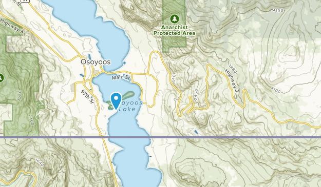 Okanagan-Similkameen A, British Columbia Map