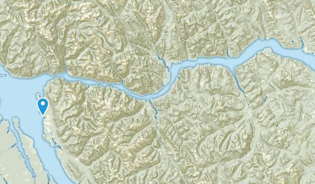 Peace River E, British Columbia Map