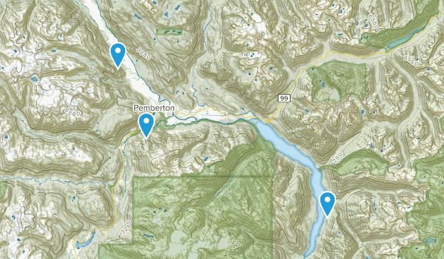 Pemberton, British Columbia Map
