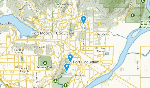 Port Coquitlam, British Columbia Map