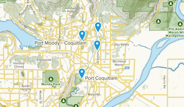 Port Coquitlam Map Best Trails near Port Coquitlam, British Columbia Canada | AllTrails