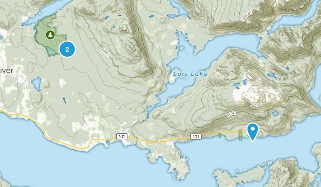 Powell River C, British Columbia Map