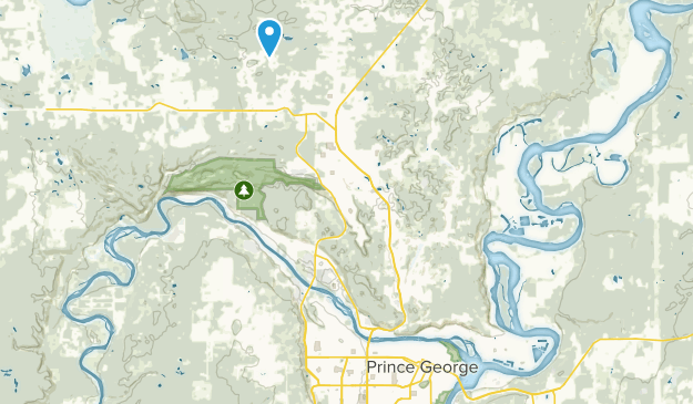 Prince George Canada Map.Best Trails Near Prince George British Columbia Canada Alltrails