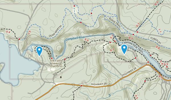 Quinsam 12, British Columbia Map