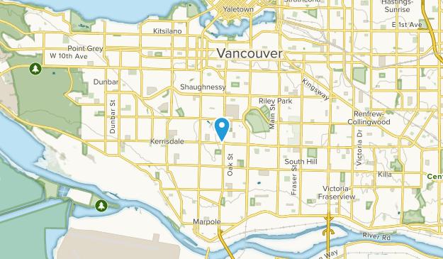 Shaughnessy, British Columbia Map