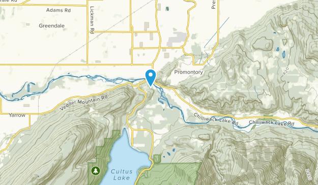 Soowahlie 14, British Columbia Map