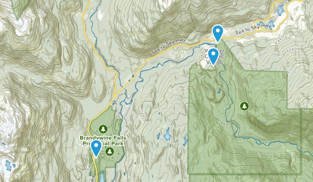Sproatt, British Columbia Map
