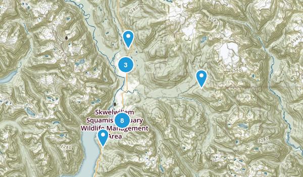 Squamish, British Columbia Map