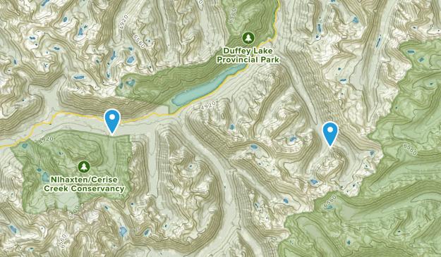 Squamish-Lillooet B, British Columbia Map