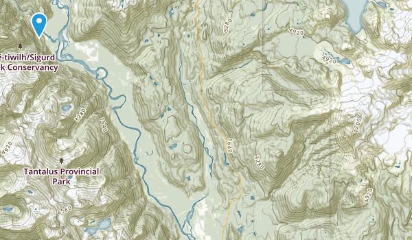 Squamish-Lillooet D, British Columbia Map