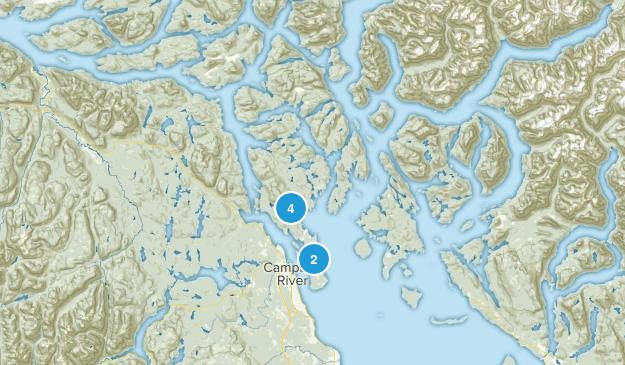 Strathcona C, British Columbia Map