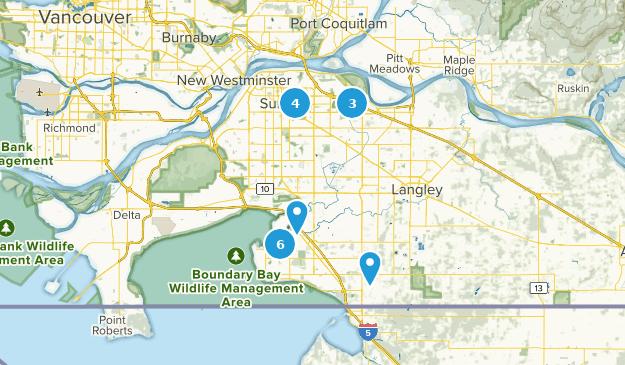 Surrey Canada Map.Best Trails Near Surrey British Columbia Canada Alltrails