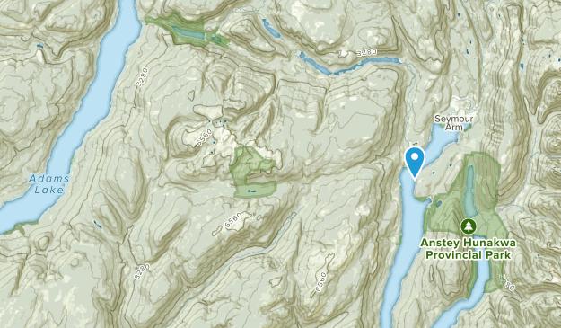 Tappen, British Columbia Map